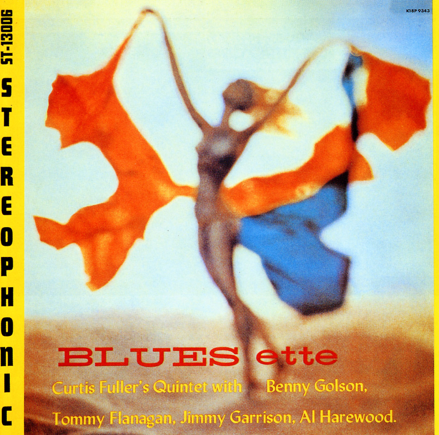 curtis fuller - blues-ette (album art)